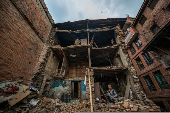 Nepal Earthquake response, May 2015. Photograph credit: Peter Biro.
