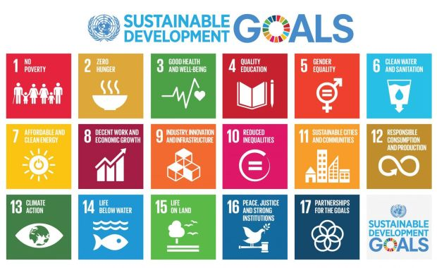 The proposed SDGs, reproduced with permission from the UN