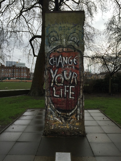 Segment of the Berlin Wall. Image credit: A. Bow-Bertrand