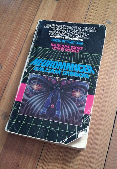 Gibson's 'Neuromancer'. Image Credit- Rob Larsen, Flickr.