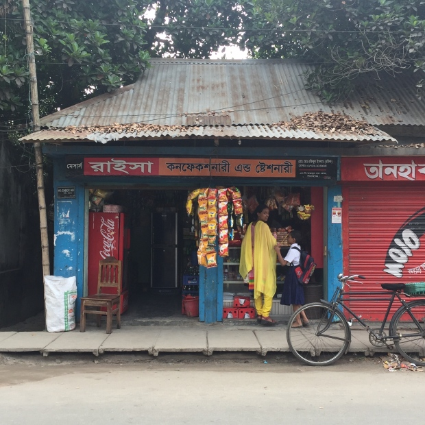 A shop opposite the TB/Leprosy clinic in Sadar, Sirajganj. Image Credit: A. Bow-Bertrand
